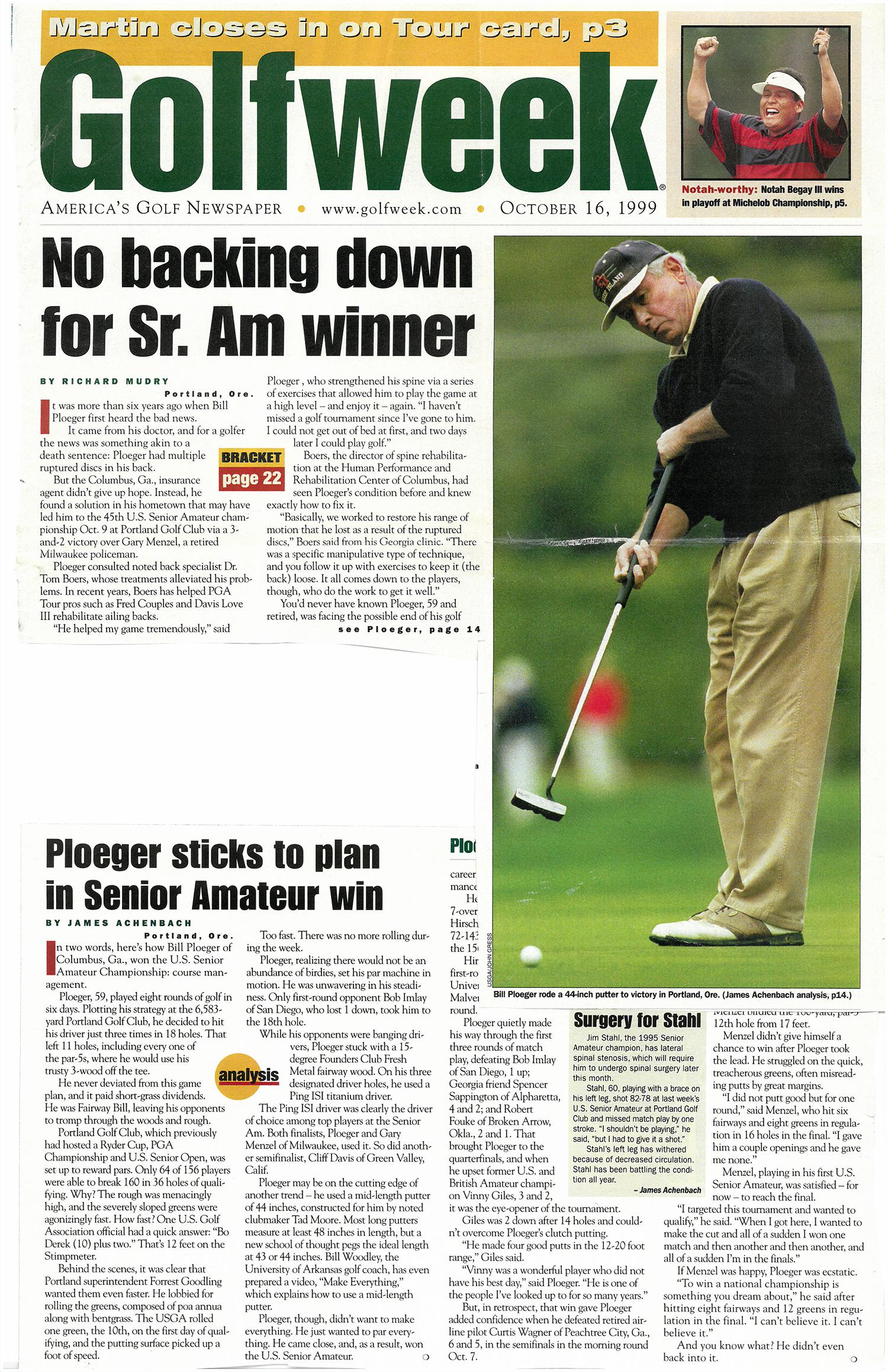 Bill Ploeger - Georgia Tech golf