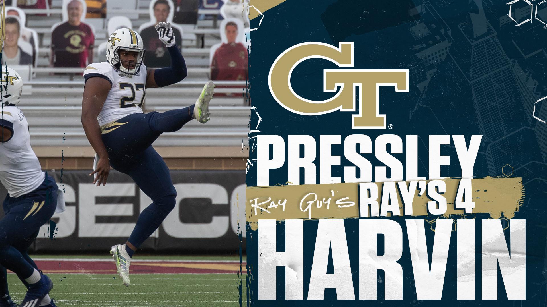 Harvin Named To Ray S 4 Again Football Georgia Tech Yellow Jackets