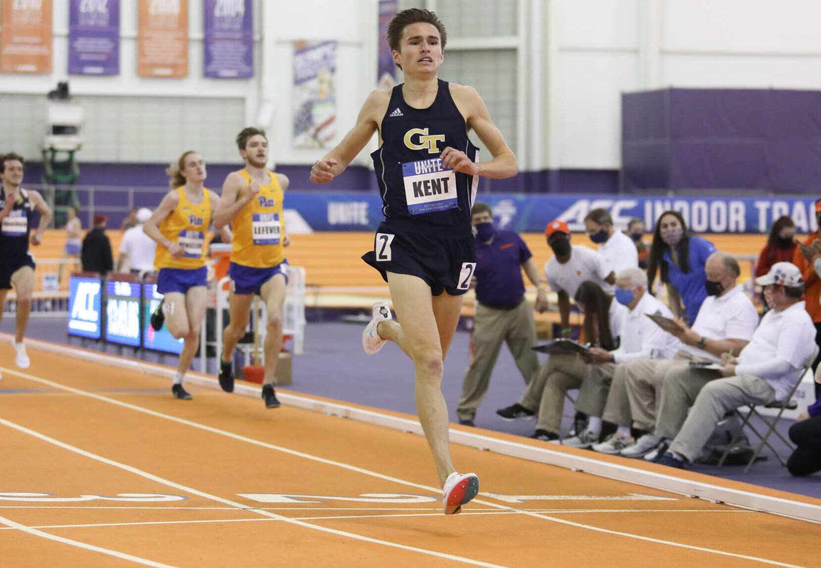 Fegans & Kent Garner Conference Honors at Final Day of ACC Indoor Championships